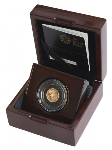 2014 Proof Quarter Sovereign